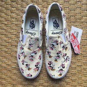 Vans Disney Minnie Mouse tennis shoes